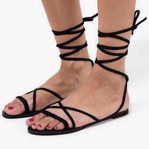 Raye the label lace up sandal